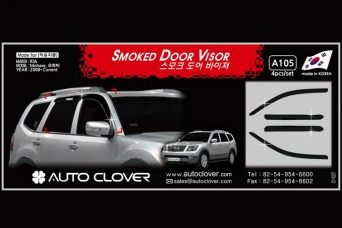 Дефлекторы окон KIA Mohave autoclover A105