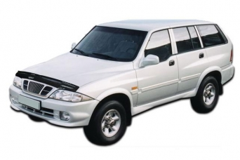 Дефлектор капота Ssang Yong Musso 1993-1998 ca